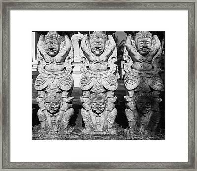 Protecting Spirits Framed Print by Irina Effa