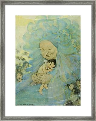 Protection Circa 1916 Framed Print by Aged Pixel