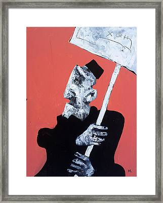 Protesto No. 13 Framed Print by Mark M  Mellon