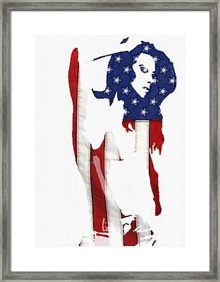 Proud Girl Framed Print by Steve K