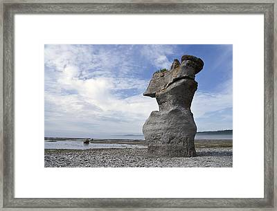 Proud Rock Framed Print by Arkady Kunysz