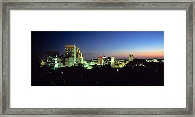 Providence Ri Framed Print by Panoramic Images