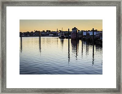 Providence Waterfront Framed Print by Andrew Pacheco