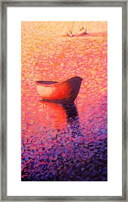 Provincetown Glow Framed Print by Craig  Bruce