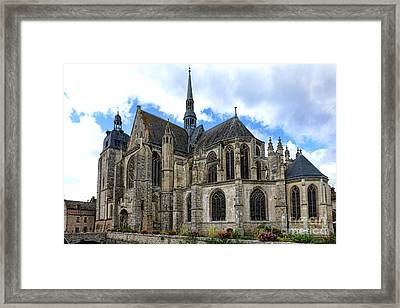 Provincial Church In France Framed Print by Olivier Le Queinec