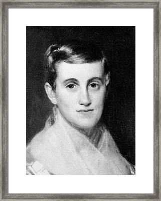 Prudence Crandall (1803-1890) Framed Print by Granger