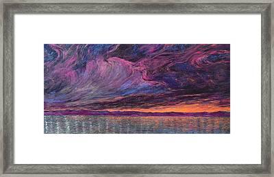 Psalm 104 3 Framed Print by J Michael Orr