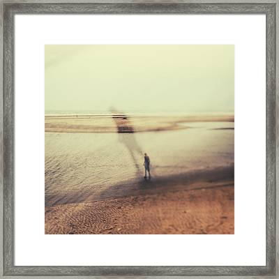 Psichy Framed Print by Stelios Kleanthous