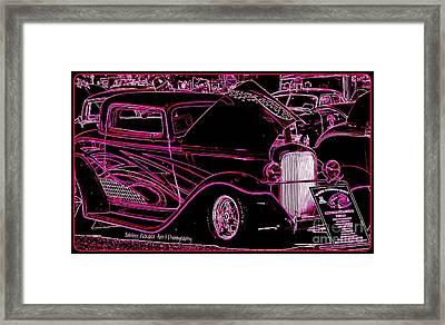Psychedelic Mania Framed Print by Bobbee Rickard