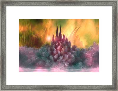 Psychedelic Tendencies   Framed Print by Linda Sannuti