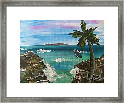 Ptg    Contemplation Framed Print by Judy Via-Wolff