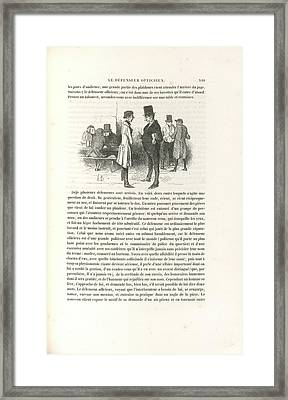 Public Council For The Defence Framed Print by British Library