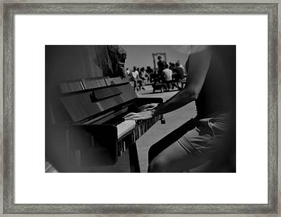 Public Music Framed Print by Frederico Borges