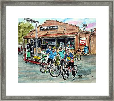 Puckett's Peddlars Framed Print by Tim Ross