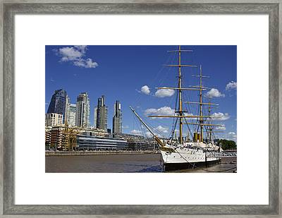 Puerto Madero Buenos Aires Framed Print by Venetia Featherstone-Witty