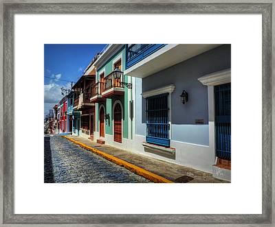 Puerto Rico - Old San Juan 010 Framed Print by Lance Vaughn