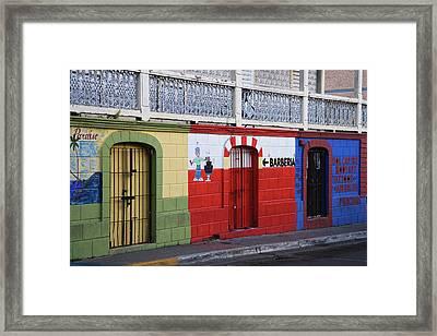 Puerto Rico, Vieques, Isabela Segunda Framed Print by Jaynes Gallery