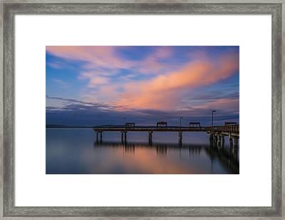 Puget Sound Dream Framed Print by Ryan Manuel