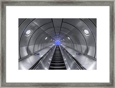 Pull Me In Framed Print by Evelina Kremsdorf