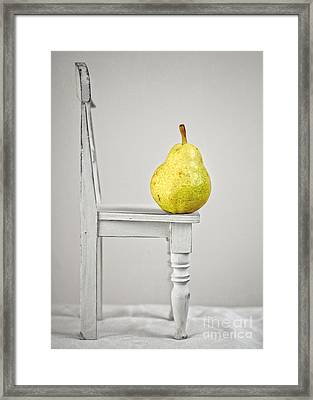 Pull Up A Chair Framed Print by Edward Fielding