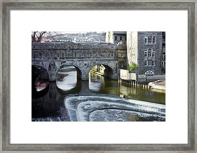 Pulleney Bridge Framed Print by Bob Phillips