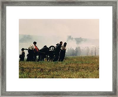 Pulling Back Framed Print by Joann Renner