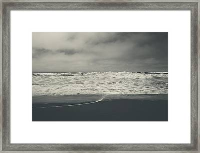 Pulling Me In Framed Print by Laurie Search