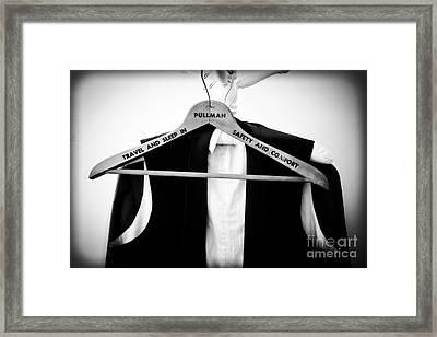 Pullman Tuxedo Framed Print by Edward Fielding