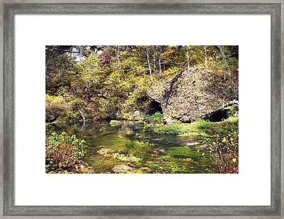 Pulltite Spring Framed Print by Marty Koch