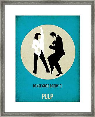 Pulp Fiction Poster 2 Framed Print by Naxart Studio