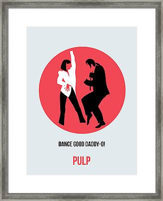 Pulp Fiction Poster 5 Framed Print by Naxart Studio