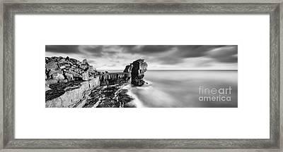 Pulpit Rock Framed Print by Rod McLean