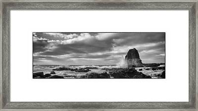 Pulpit Rock Framed Print by Shari Mattox