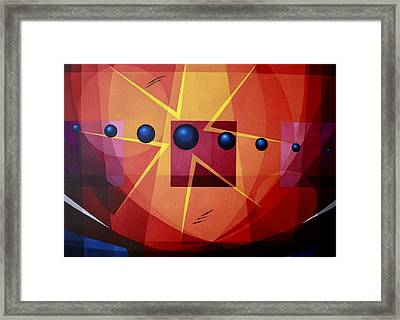 Pulse Framed Print by Alberto D-Assumpcao