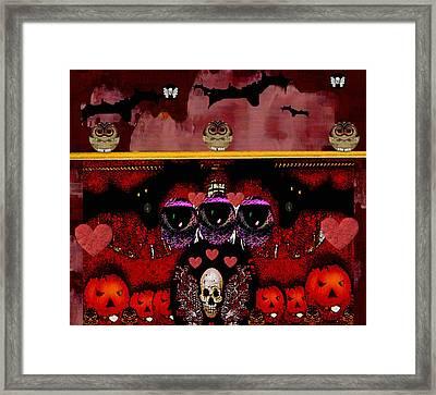 Pumkin Day Framed Print by Pepita Selles