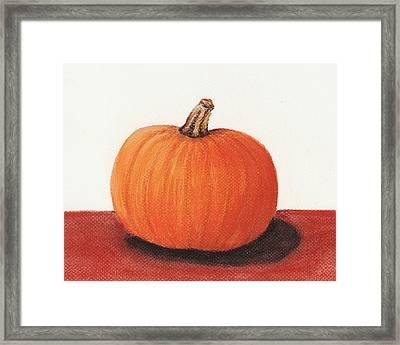 Pumpkin Framed Print by Anastasiya Malakhova