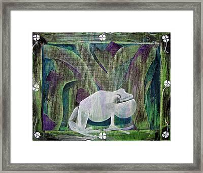 Puna Coqui Framed Print by Ethel  Mann