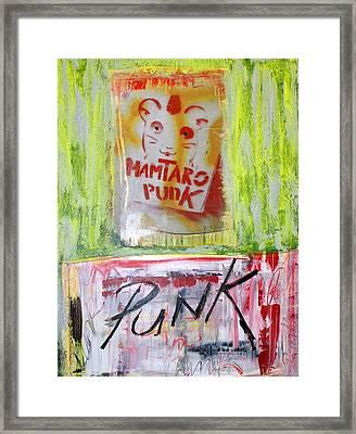 Punk Framed Print by Sanne Rosenmay