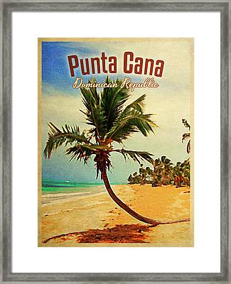 Punta Cana Dominican Republic Framed Print by Flo Karp
