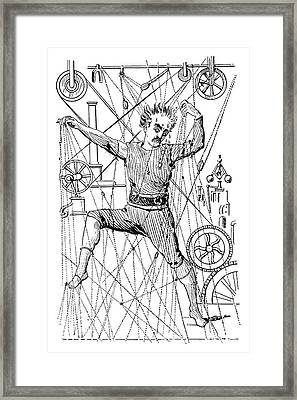 Puppeteer Thomas Holden Framed Print by Granger