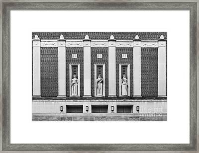 Purdue University Elliott Hall Framed Print by University Icons