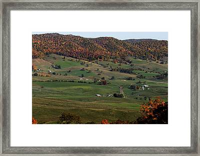 Pure Country Framed Print by David Lester