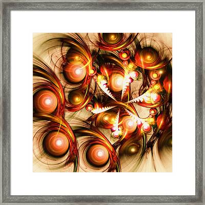 Pure Energy Framed Print by Anastasiya Malakhova