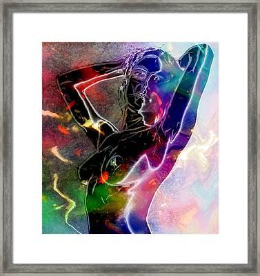 Pure Female Energy Framed Print by Steve K