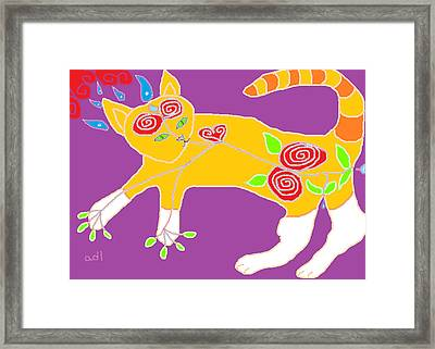Pure Theo Framed Print by Anita Dale Livaditis