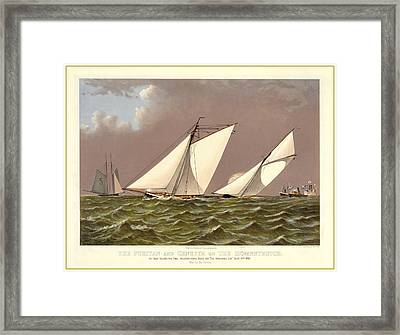 Puritan Boston Framed Print by Gary Grayson