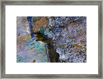 Purl Of A Brook 1 - Featured 3 Framed Print by Alexander Senin
