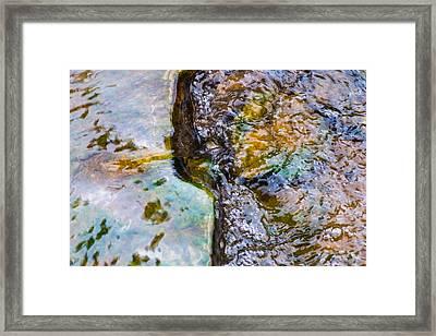 Purl Of A Brook 2 - Featured 3 Framed Print by Alexander Senin
