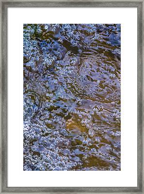 Purl Of A Brook Framed Print by Alexander Senin
