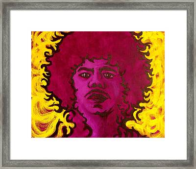 Purple Daze Framed Print by Pete Maier